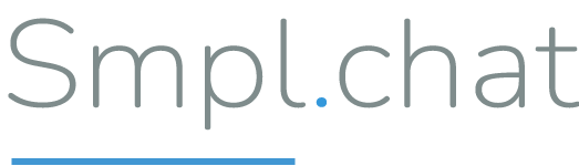 Smpl.chat logo